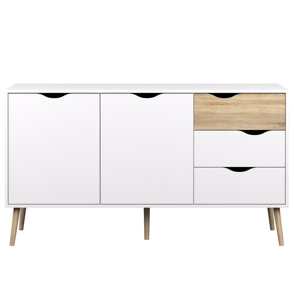 Inspiration about Anrichte Oslo (2+3) | Ideensammlung | Kommode, Kommode Buche In 2018 Dowler 2 Drawer Sideboards (#5 of 20)