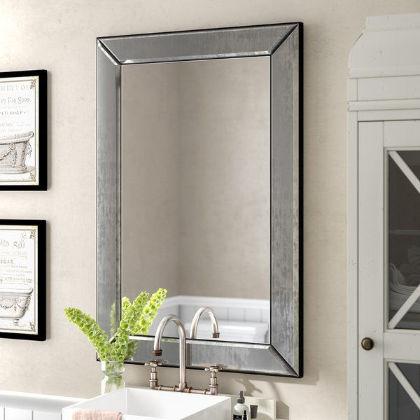 Ansgar Accent Mirror In 2019 | Bathroom | Mirror, Decorative Throughout Ansgar Accent Mirrors (#1 of 20)