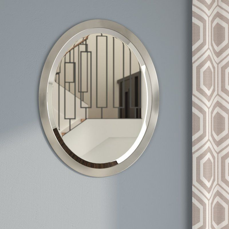 Arabella Wall Mirror | Bathrooms In 2019 | Oval Mirror For Charters Towers Accent Mirrors (#2 of 20)
