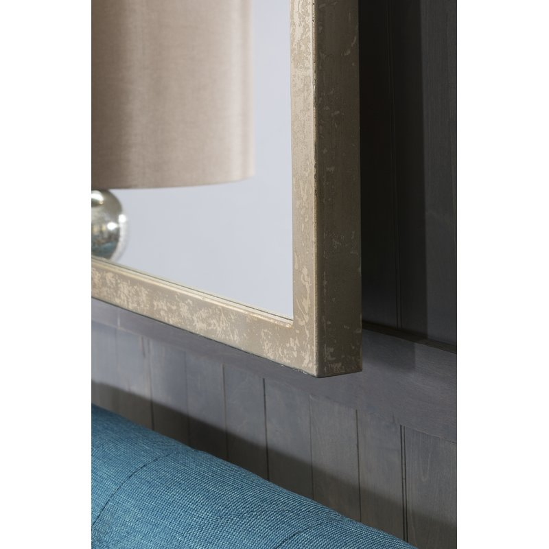 Arcade Weathered Pewter Traditional Accent Mirror In Traditional Accent Mirrors (#1 of 20)