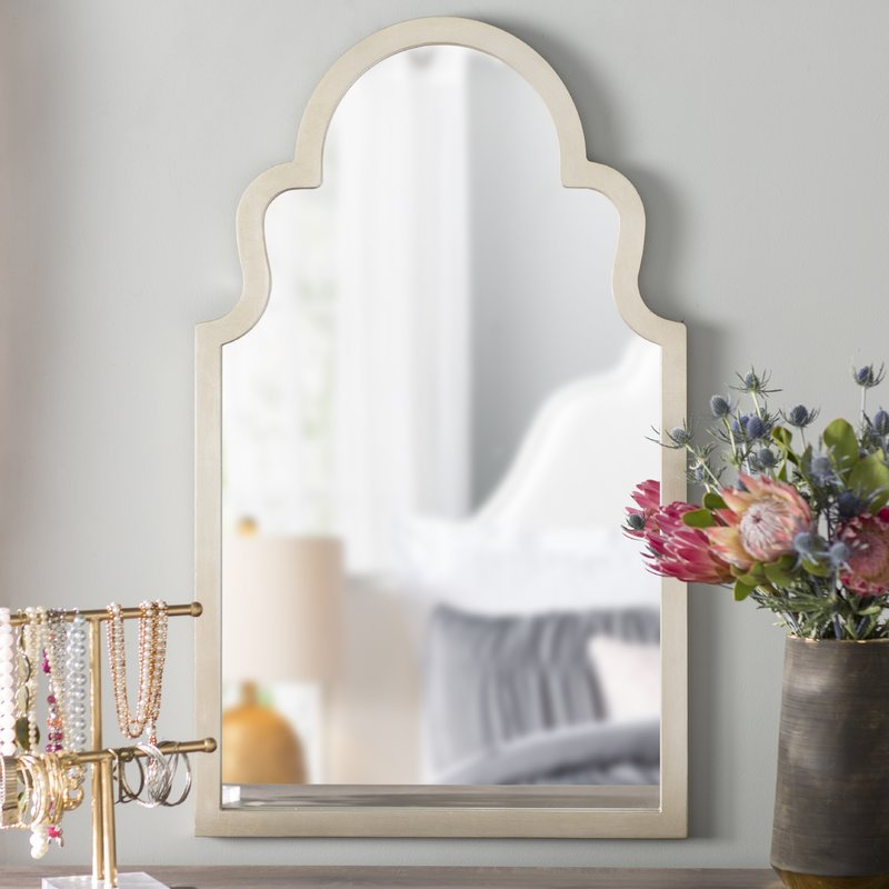 Arch Top Vertical Wall Mirror For Arch Vertical Wall Mirrors (#1 of 20)