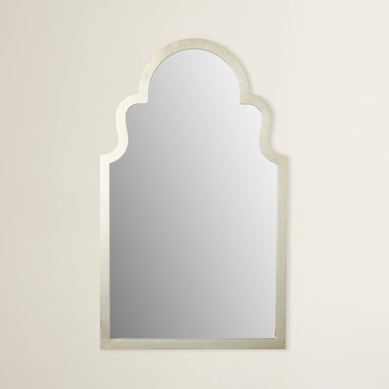 Arch Top Vertical Wall Mirror Pertaining To Fifi Contemporary Arch Wall Mirrors (#3 of 20)