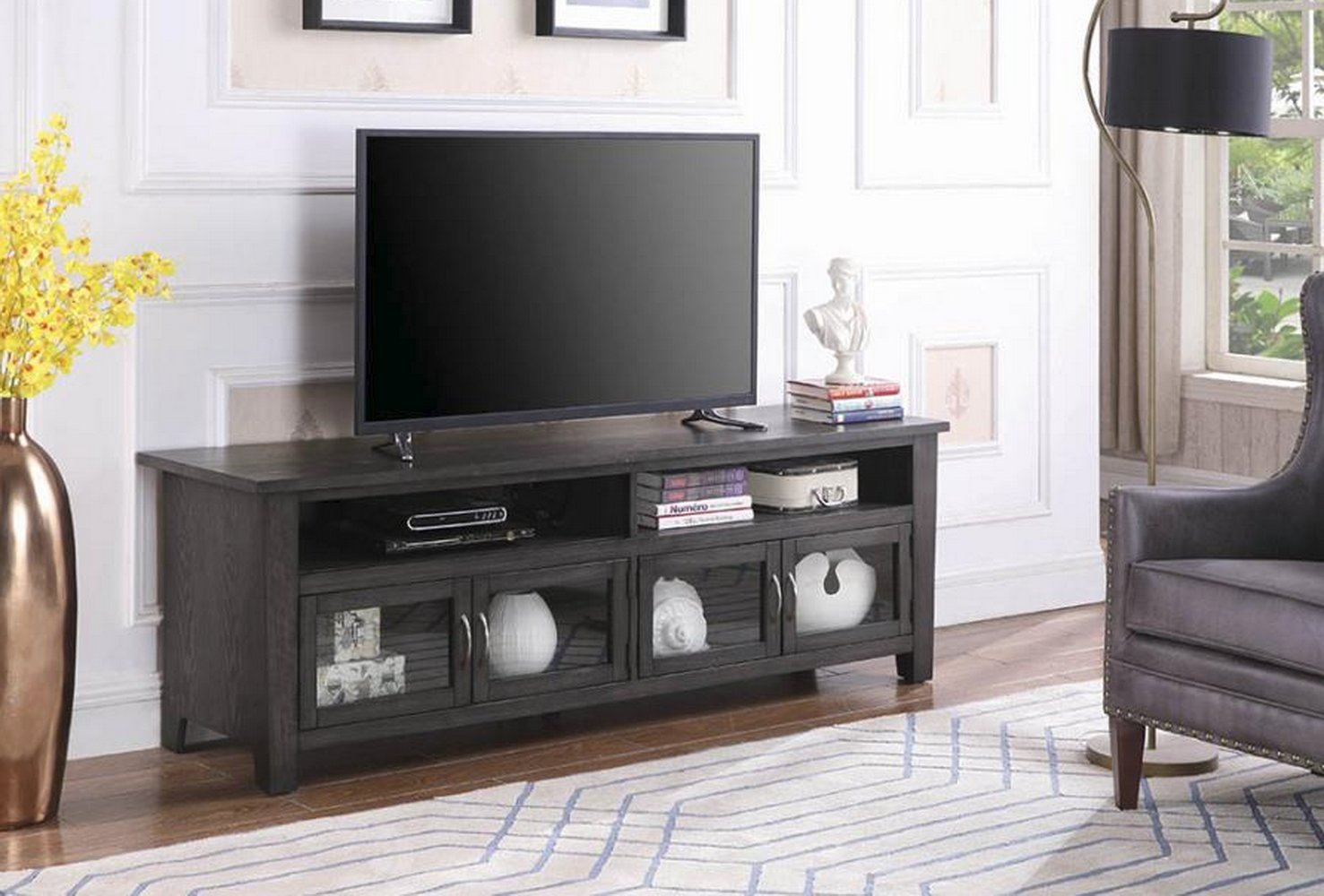 """Armenta Tv Stand For Tvs Up To 70"""" In Best And Newest Ericka Tv Stands For Tvs Up To 42"""" (#2 of 20)"""