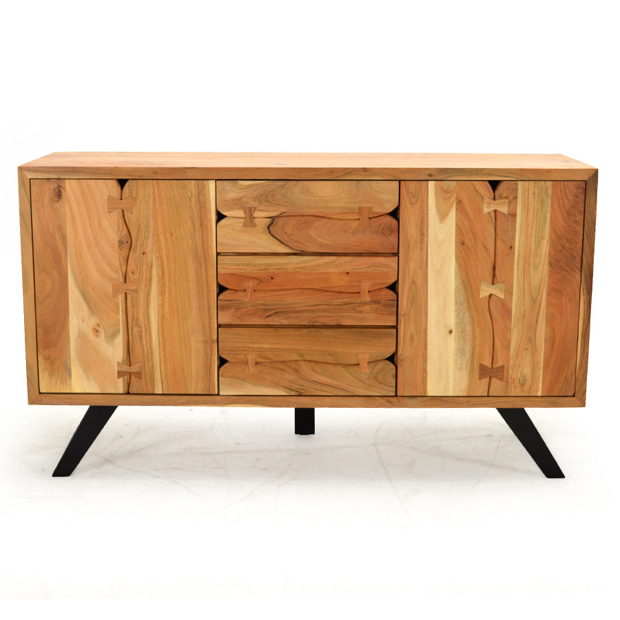Aspen Buffet, Reclaimed Natural – Home Source Furniture Regarding Current Remington Sideboards (#1 of 20)