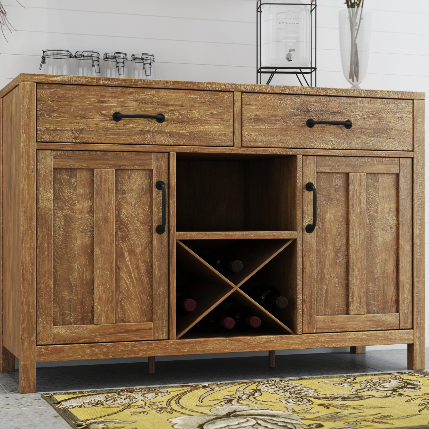 Avenal Sideboard With Most Up To Date Alegre Sideboards (#4 of 20)
