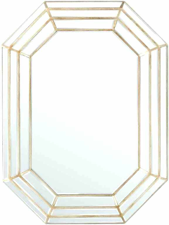 Bathroom Wall Mirrors 30 X 42 Mirror Frame Beveled Frameless Inside Rectangle Pewter Beveled Wall Mirrors (View 17 of 20)