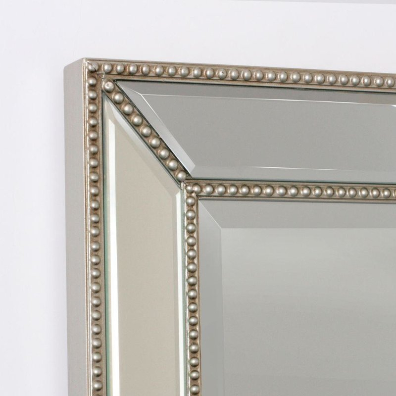 Beaded Accent Wall Mirror In Beaded Accent Wall Mirrors (#3 of 20)