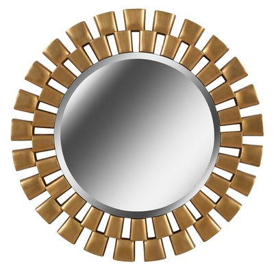 Beautiful Home Decor, Beautifully Priced Throughout Deniece Sunburst Round Wall Mirrors (View 8 of 20)