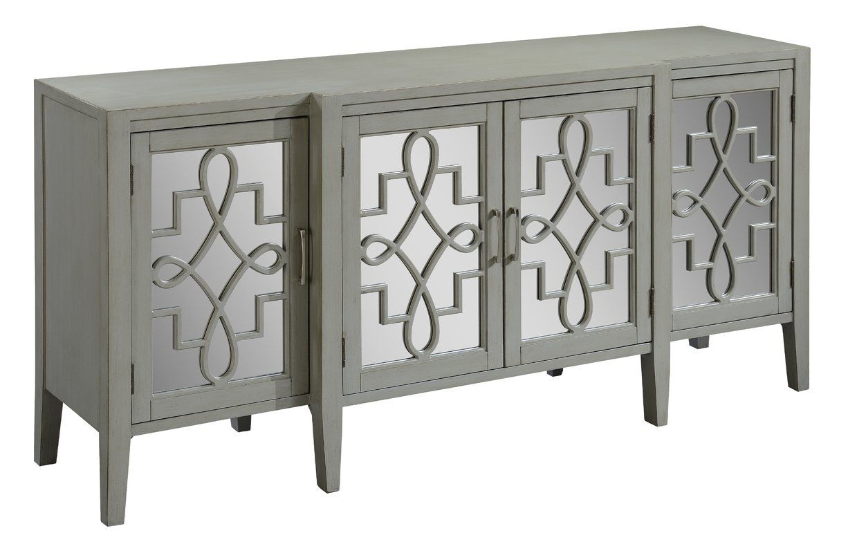 Beesley Sideboard | Phoenix | Mirrored Sideboard, Mirror With Most Current Papadopoulos Sideboards (View 1 of 20)