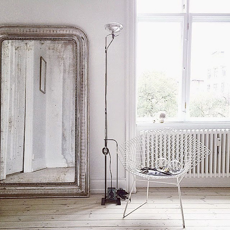 Big Leaning Mirrors Expand The View – Improvised Life Intended For Leaning Mirrors (#5 of 20)