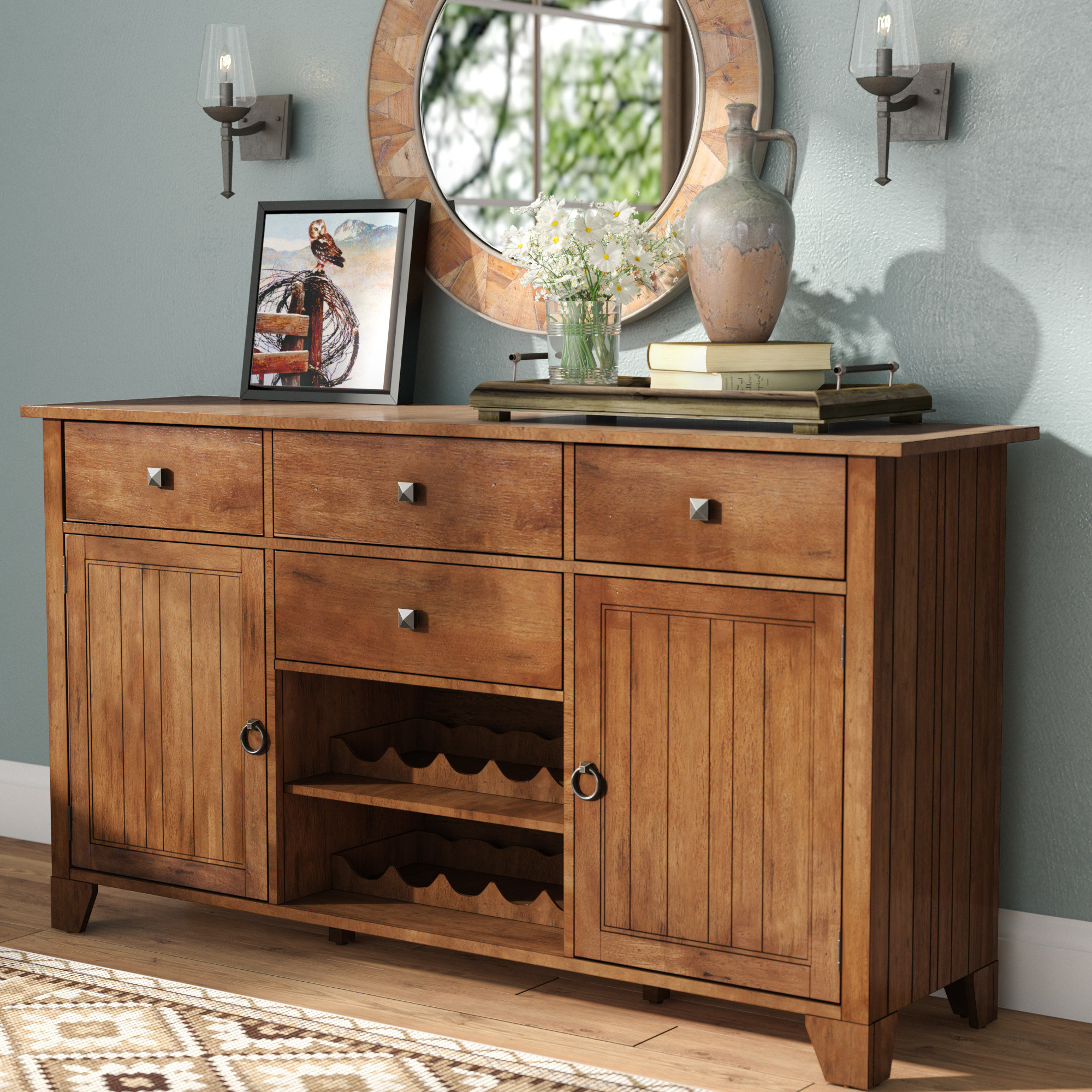 Birchley Sideboard With Best And Newest Nashoba Sideboards (#1 of 20)