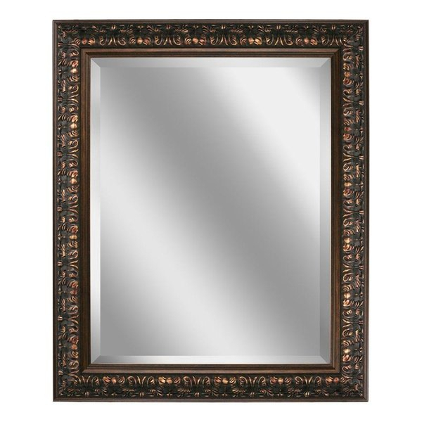 Black Ornate Mirror | Wayfair Within Rectangle Ornate Geometric Wall Mirrors (#2 of 20)