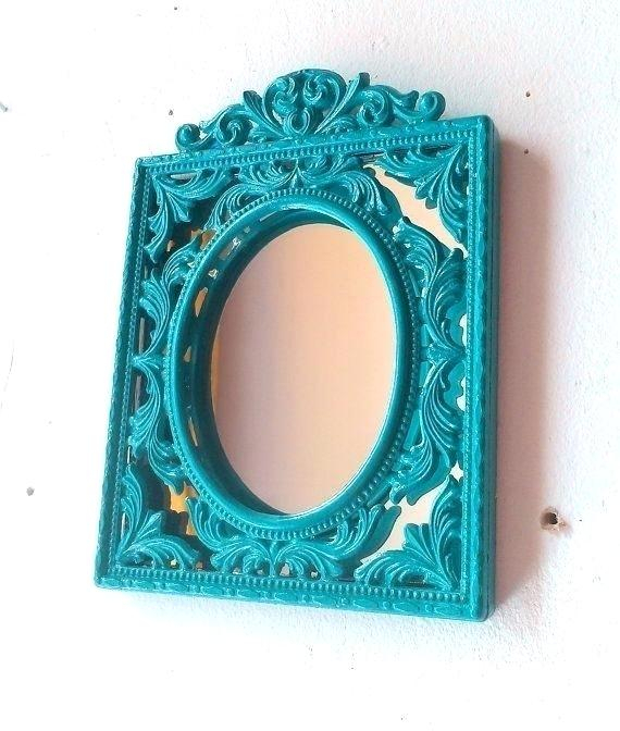 Blue Wall Mirror – Ramonburchette (#2 of 20)