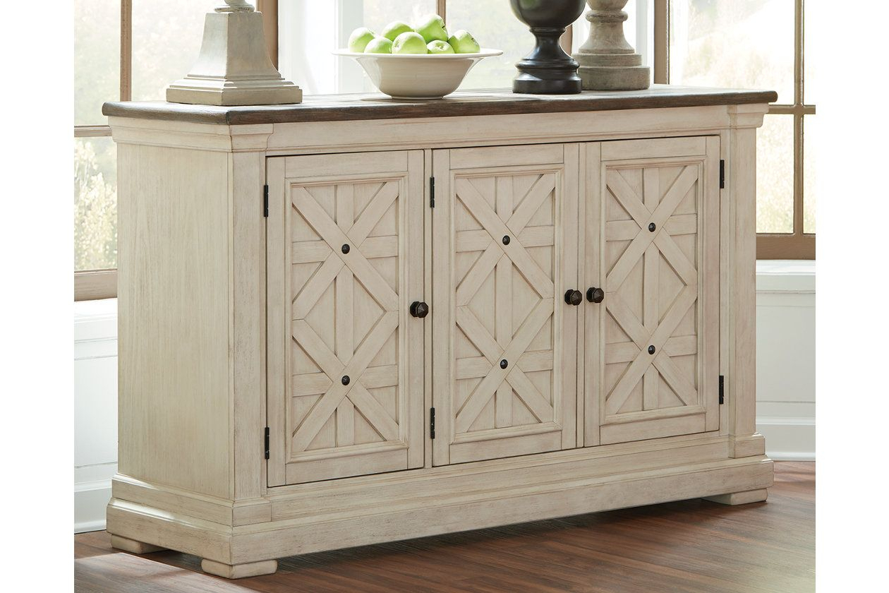 Bolanburg Dining Room Server | Decorating | Dining Room Regarding Most Recently Released Payton Serving Sideboards (#1 of 20)