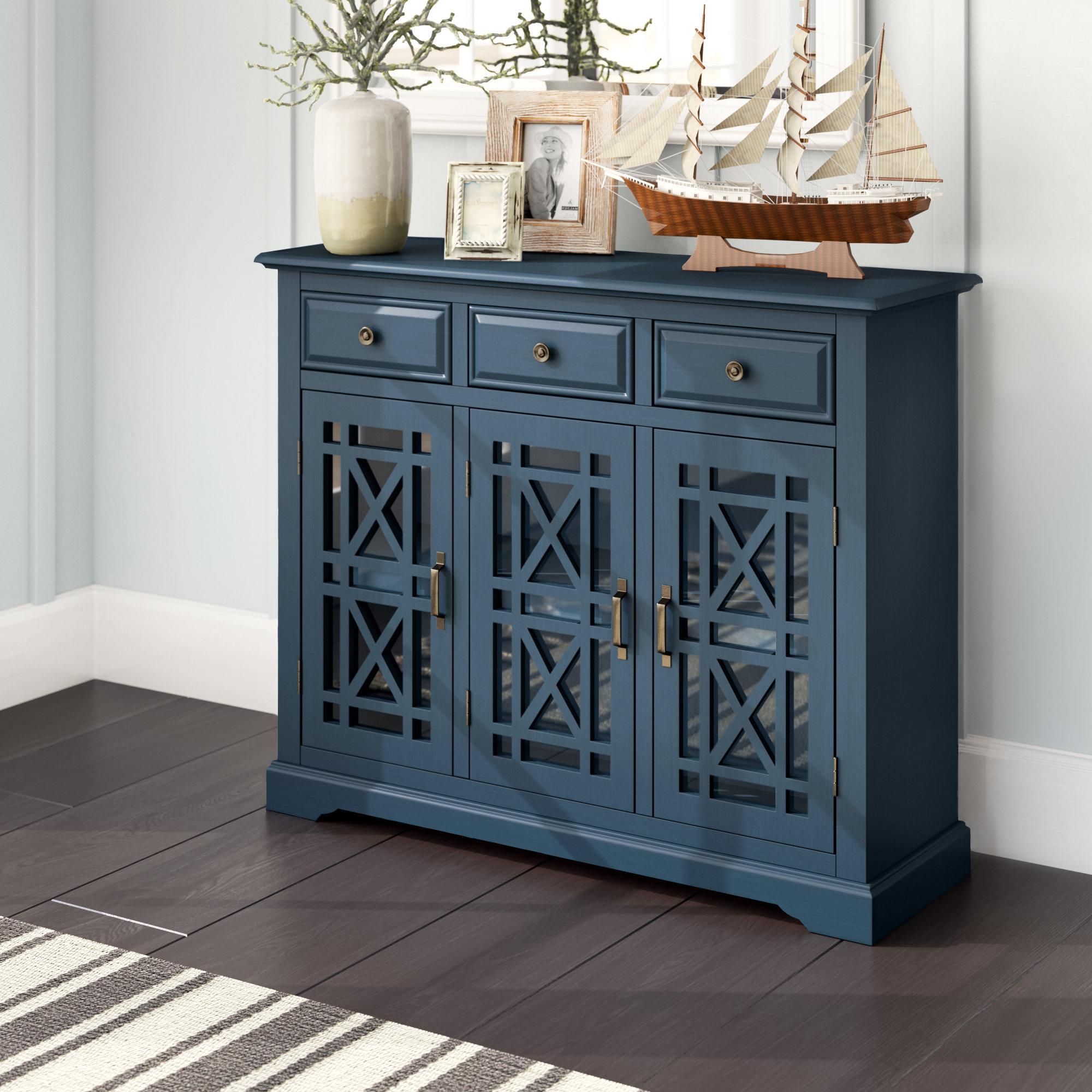 Breakwater Bay Winston Sideboard & Reviews | Wayfair With Most Recent Mauldin Sideboards (View 18 of 20)