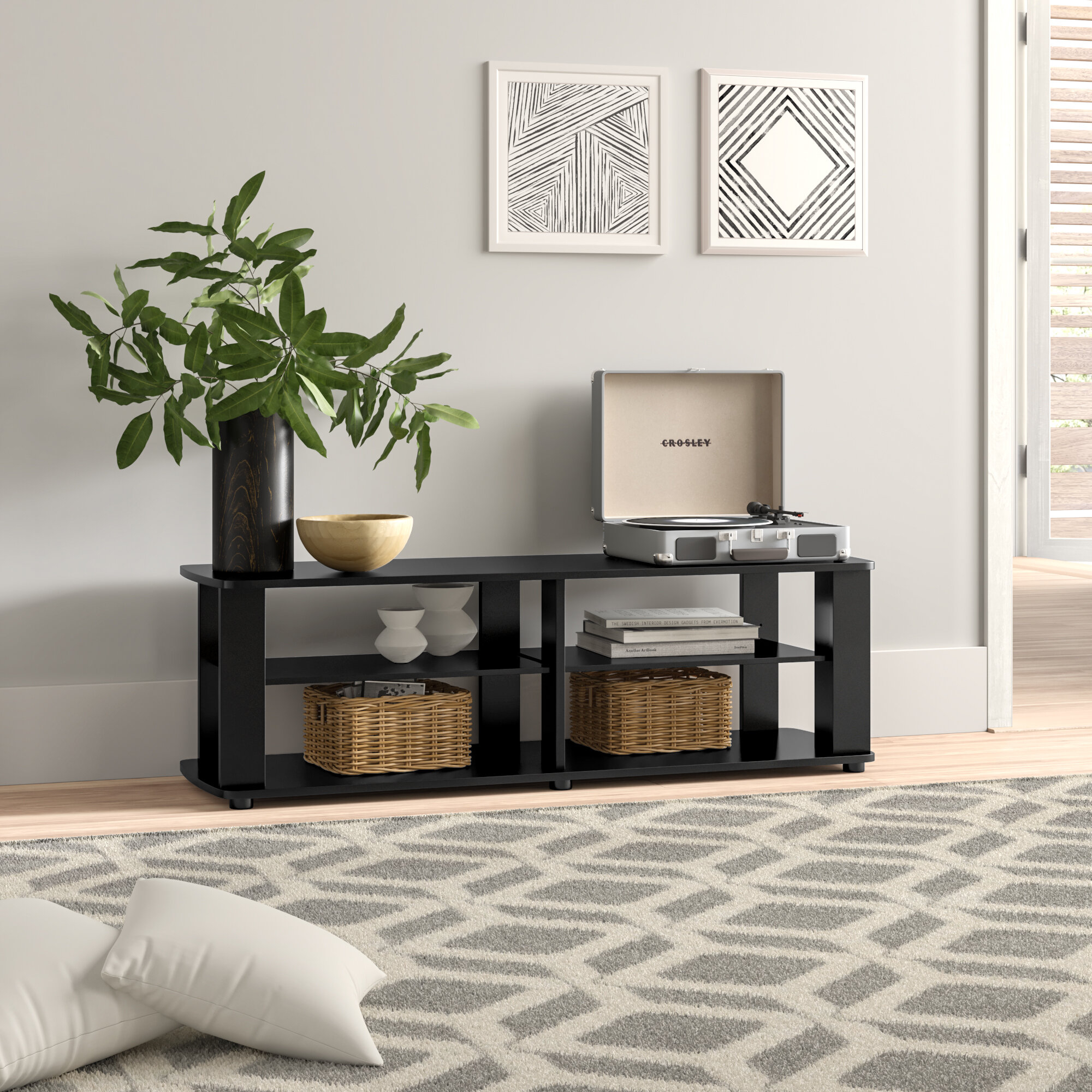 """Brittney Tv Stand For Tvs Up To 42"""" In Newest Ericka Tv Stands For Tvs Up To 42"""" (#4 of 20)"""