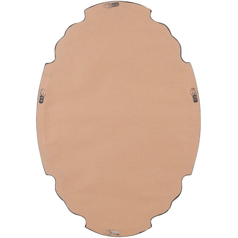 Broadmeadow Glam Accent Wall Mirror Inside Broadmeadow Glam Accent Wall Mirrors (View 6 of 20)