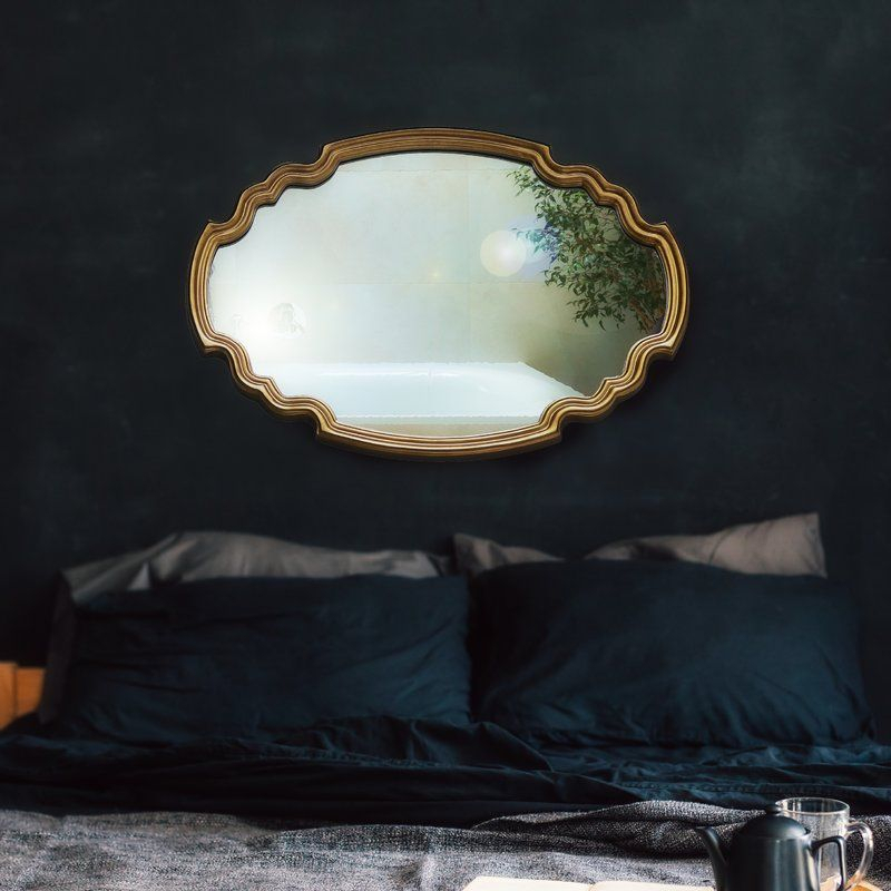 Broadmeadow Glam Accent Wall Mirror | New House | Wall In Broadmeadow Glam Accent Wall Mirrors (View 5 of 20)