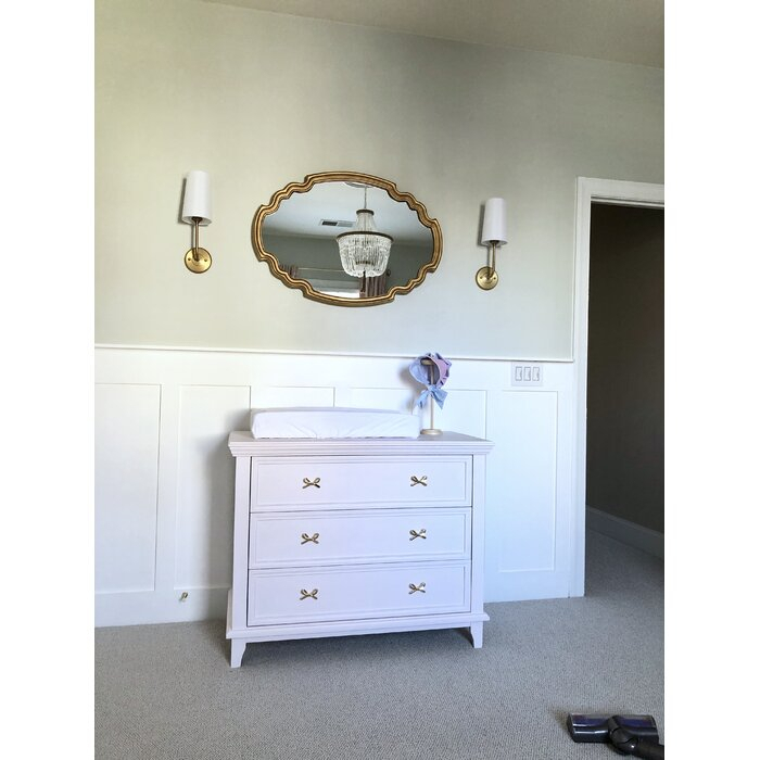 Broadmeadow Glam Accent Wall Mirror Pertaining To Broadmeadow Glam Accent Wall Mirrors (View 8 of 20)
