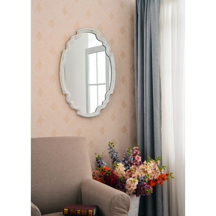Broadmeadow Glam Accent Wall Mirror With Regard To Broadmeadow Glam Accent Wall Mirrors (View 10 of 20)