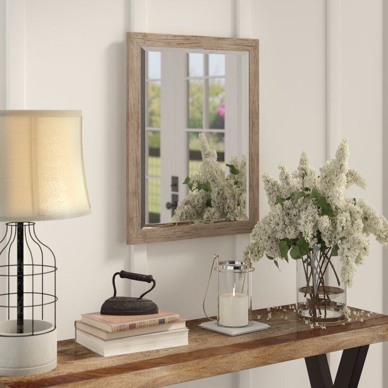 Brucie Framed Decorative Rectangle Accent Mirror Regarding Rectangle Accent Mirrors (#4 of 20)