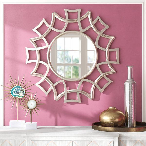 Brylee Traditional Sunburst Mirror In 2019 | Decor With Regard To Brylee Traditional Sunburst Mirrors (#1 of 20)