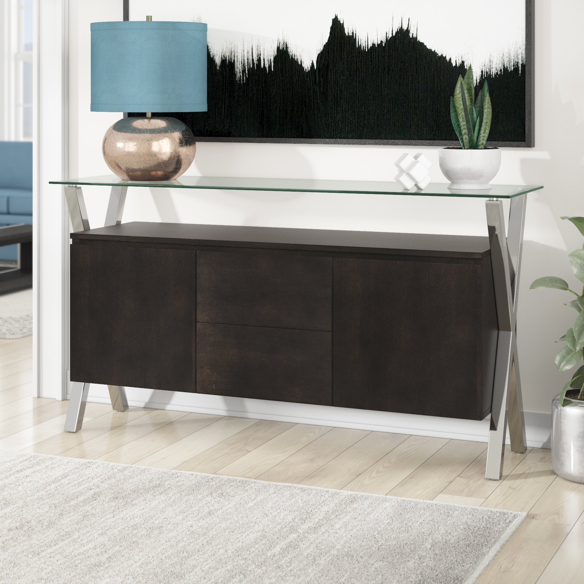 Buffet Table Gold Sideboards & Buffets You'll Love In 2019 Regarding Newest Emiliano Sideboards (#3 of 20)