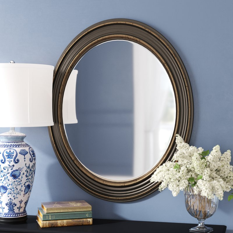 Popular Photo of Burnes Oval Traditional Wall Mirrors