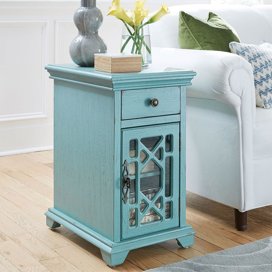 Candace Accent Cabinet Inside Recent Candace Door Credenzas (#5 of 20)