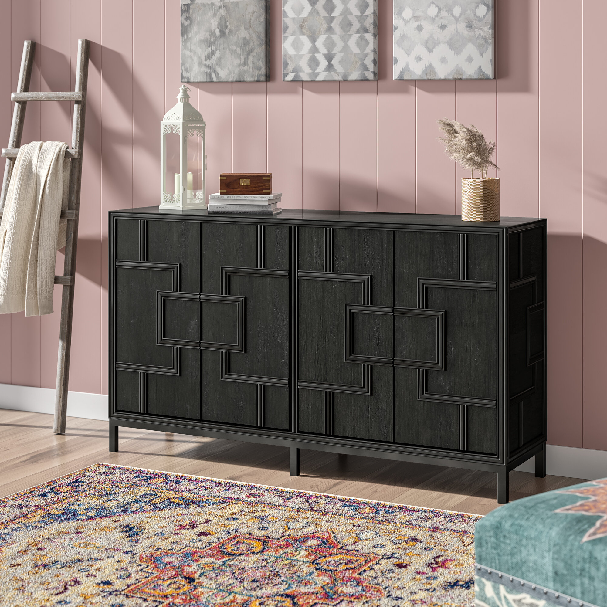 Candide Wood Credenza For 2017 Candide Wood Credenzas (View 2 of 20)
