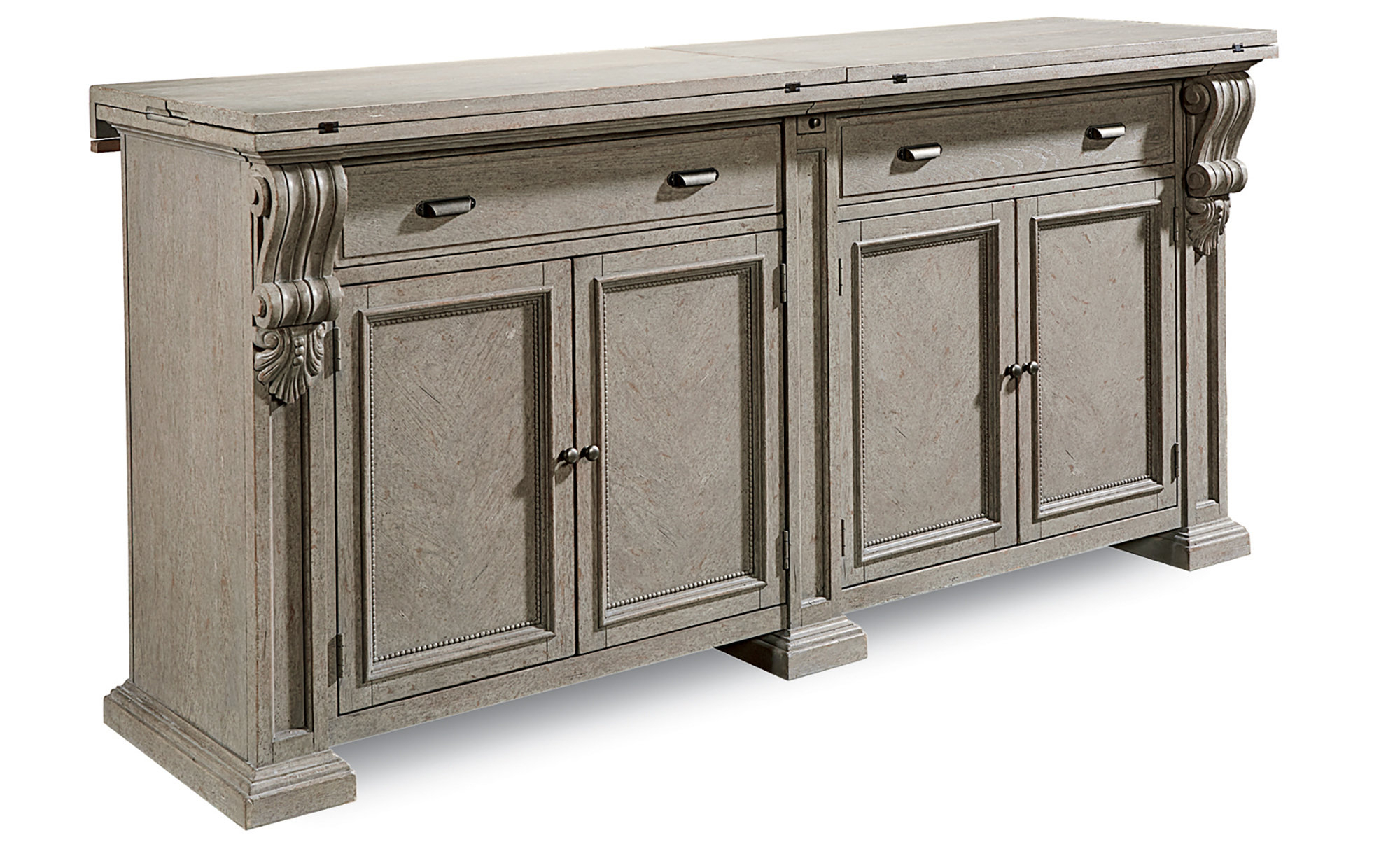 Carolin Sideboard Throughout Most Current Ilyan Traditional Wood Sideboards (#2 of 20)