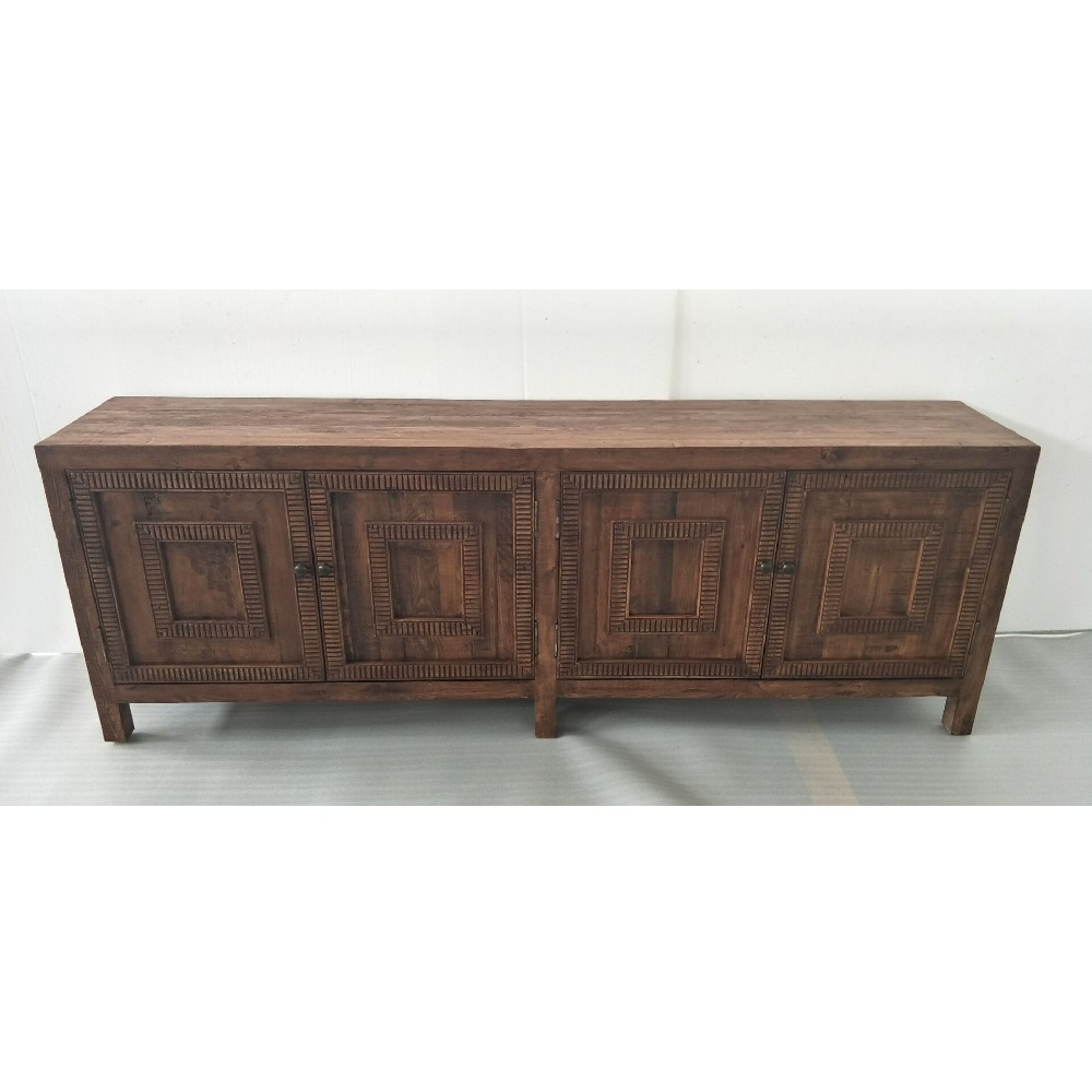 Cdh 4 Door Parson Sideboard In Natural Regarding Most Current Solana Sideboards (#4 of 20)