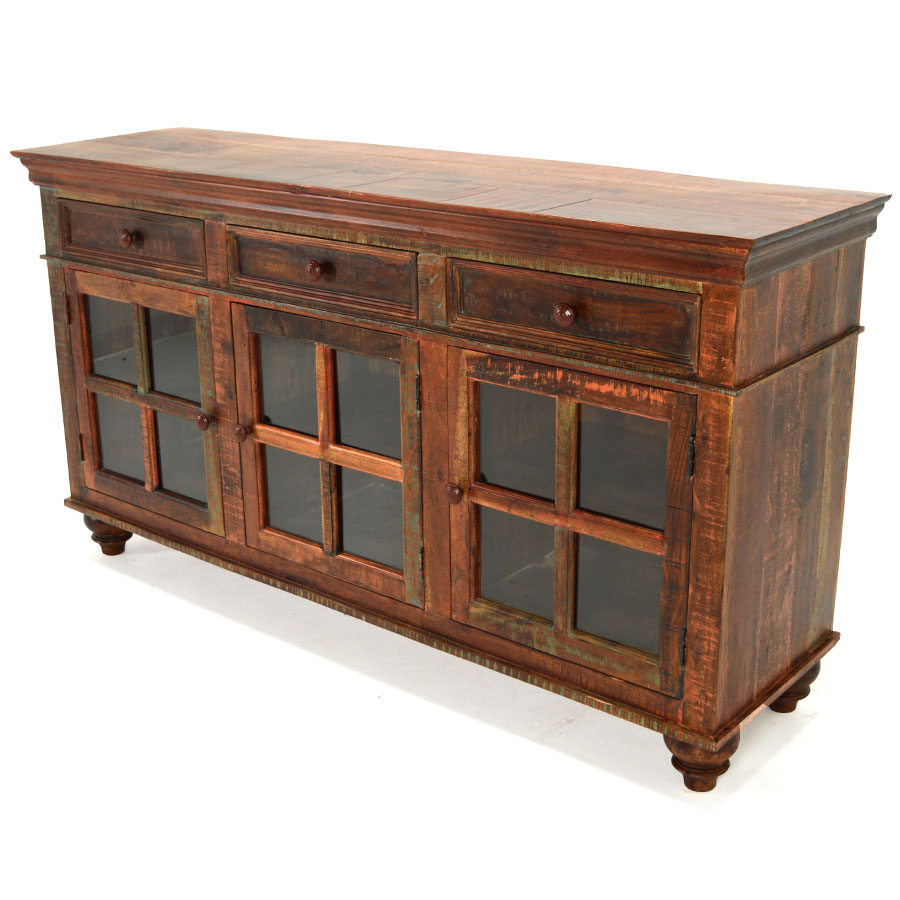 Chandler Sideboard, Reclaimed Wood – Home Source Furniture In Recent Remington Sideboards (#4 of 20)