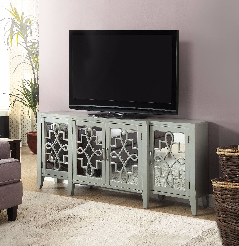 """Chanelle Tv Stand Within Most Popular Parmelee Tv Stands For Tvs Up To 65"""" (#3 of 20)"""