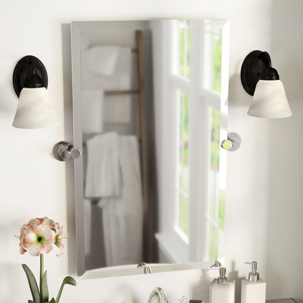 Channel Bathroom/vanity Mirror With Broadmeadow Glam Accent Wall Mirrors (View 14 of 20)