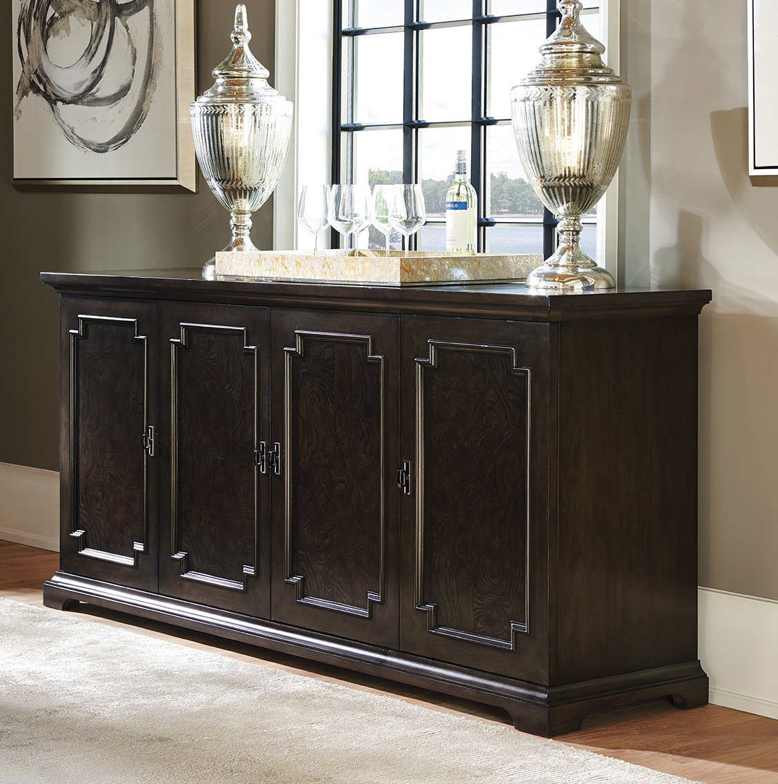 Cherry Wood Sideboards & Buffets You'll Love In 2019 | Wayfair Throughout Newest Phyllis Sideboards (#4 of 20)
