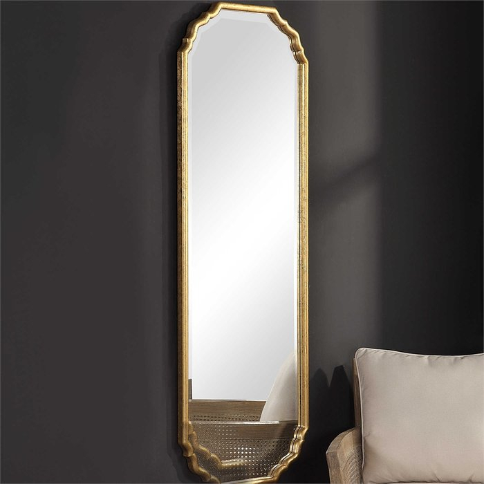 Christiano Traditional Full Length Wall Mirror Inside Traditional Metal Wall Mirrors (#2 of 20)