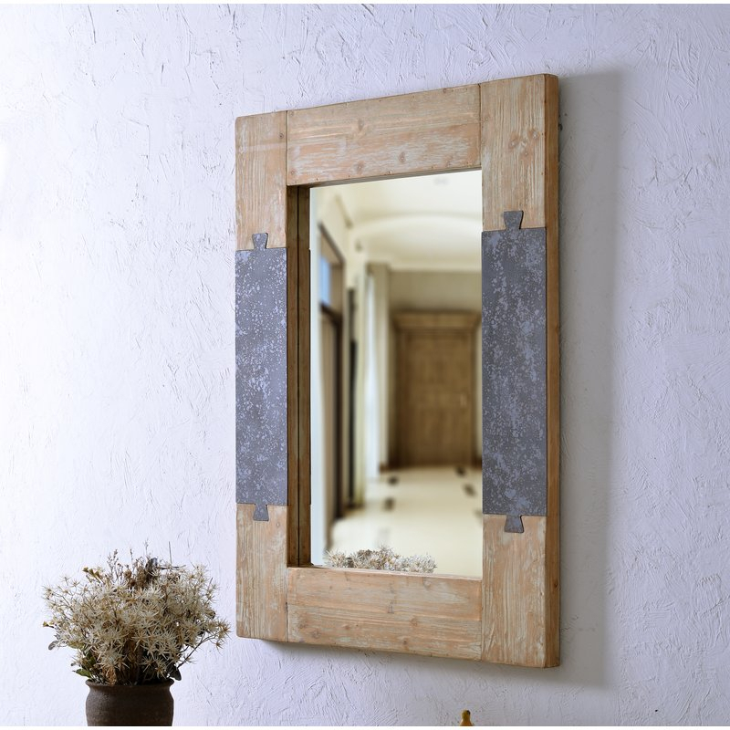 Claiborne Accent Mirror   Birch Lane Throughout Glynis Wild West Accent Mirrors (#2 of 20)