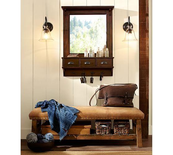 Classic Entryway Mirror Organizer – Small | Interior Pertaining To Hallas Wall Organizer Mirrors (View 15 of 20)
