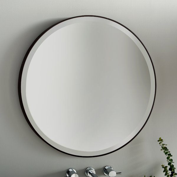 Colton Modern & Contemporary Wall Mirror In Colton Modern & Contemporary Wall Mirrors (#3 of 20)