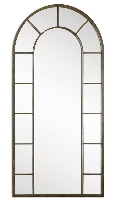 Connie Traditional Wall Mirror | Home Decor | Arch Mirror Throughout Arch Vertical Wall Mirrors (#12 of 20)