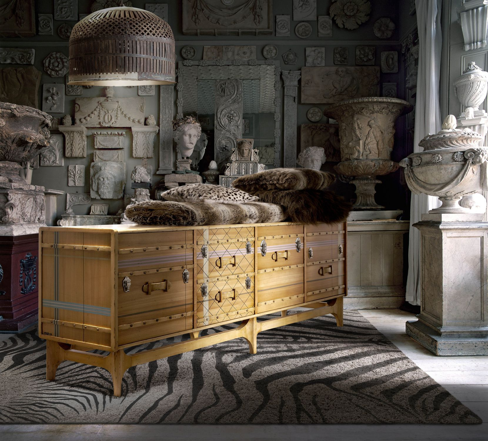 Contemporary Sideboard / Wooden / Custom – Suitcase: Ltv Throughout Latest Lola Sideboards (View 18 of 20)