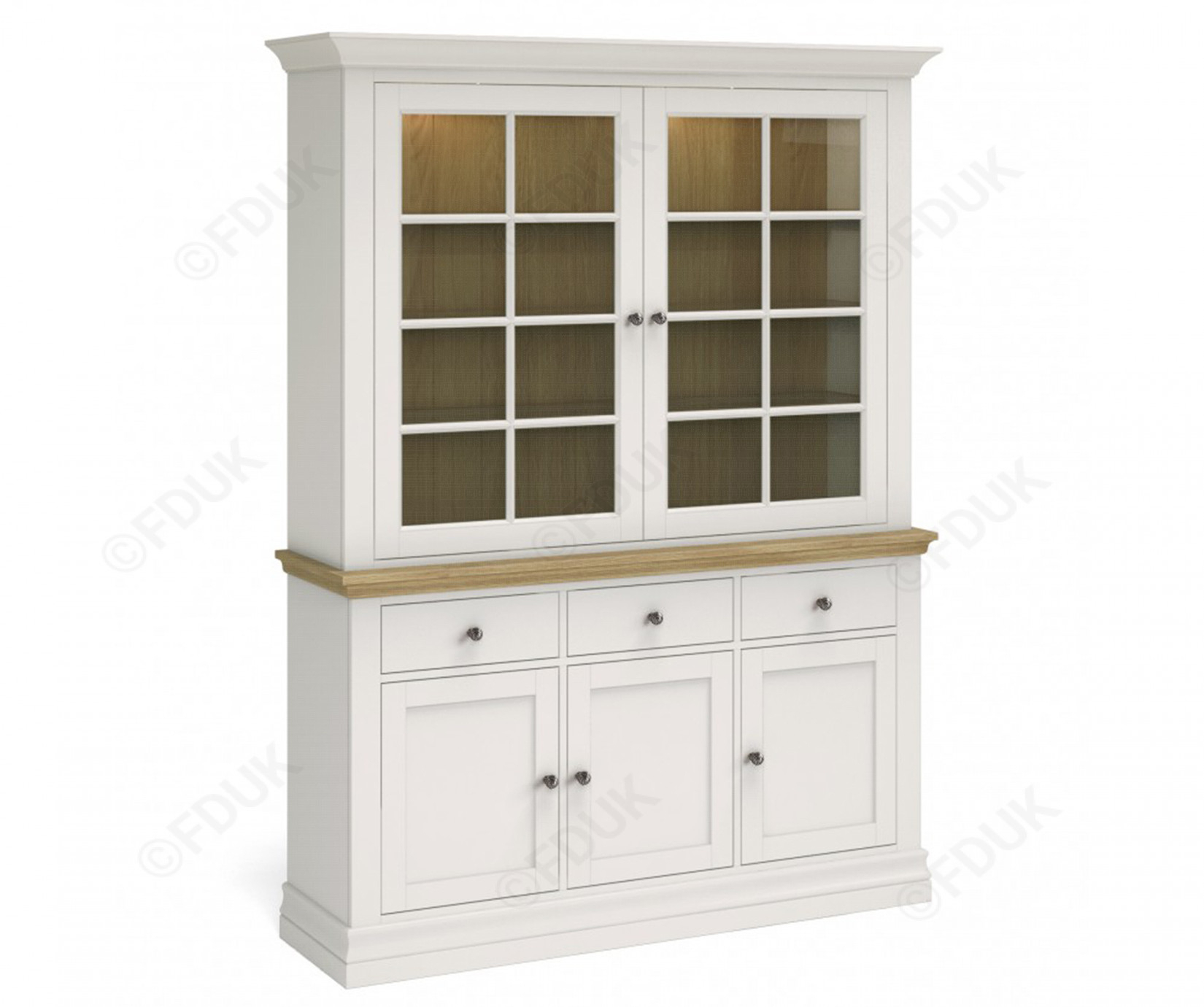 Corndell Annecy Large Sideboard With Dresser Top Fduk Best Price Guarantee  We Will Beat Our Competitors Price! Give Our Sales Team A Call On 0116 235 Pertaining To Latest Annecy Sideboards (#12 of 20)