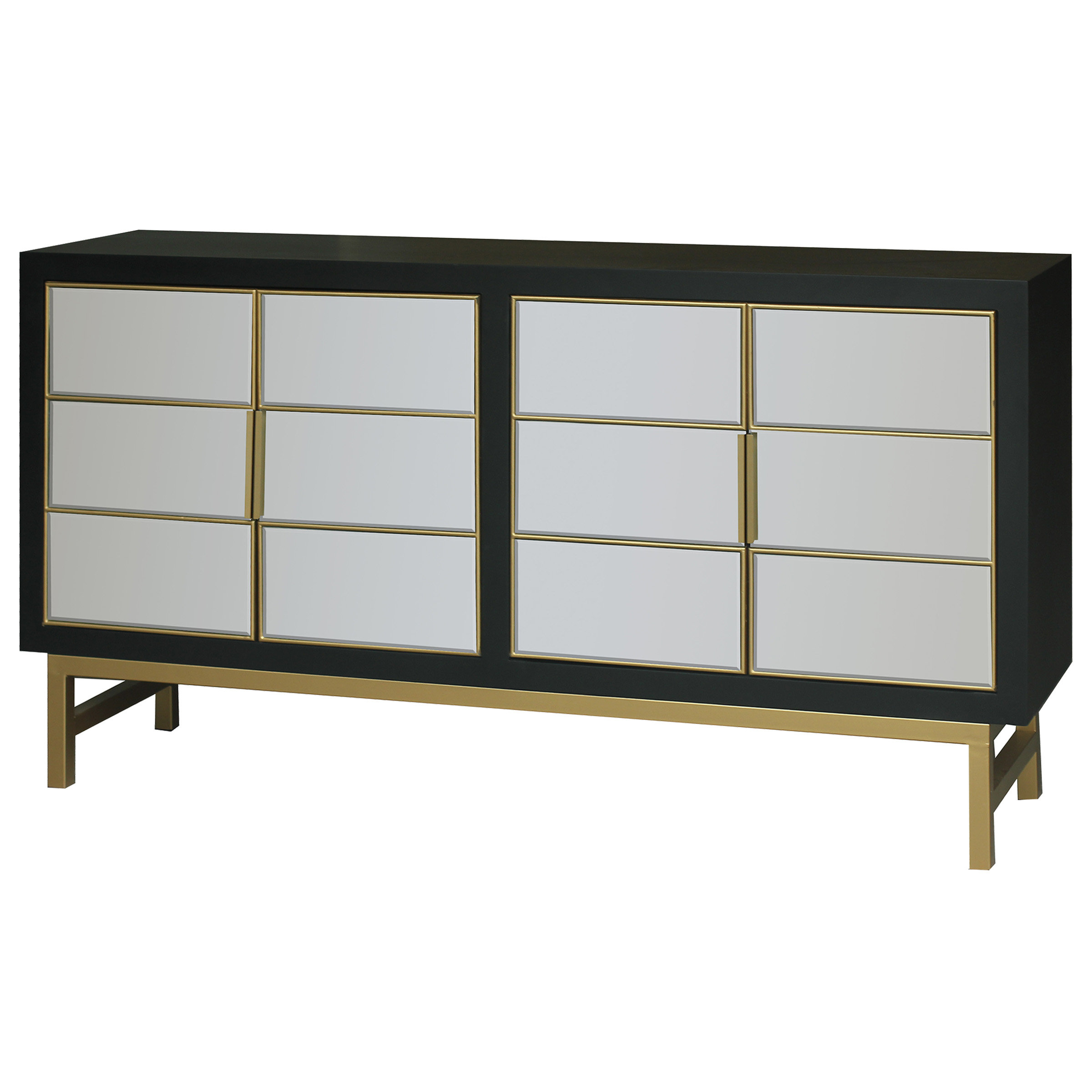 Credenza With Barn Doors | Wayfair With Latest Candace Door Credenzas (View 7 of 20)