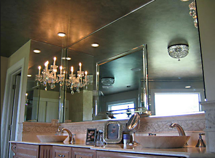 Custom Mirrors And Glass Table Tops Westbury, Ny For Custom Mirrors (View 11 of 20)