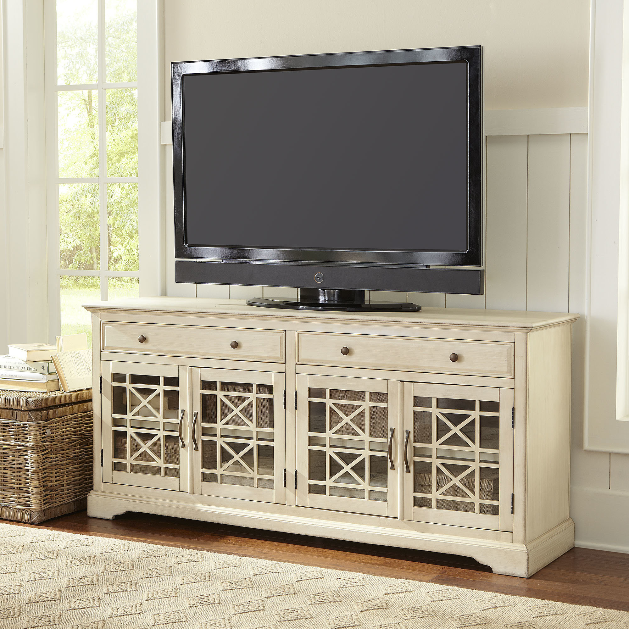 "Inspiration about Daisi Tv Stand For Tvs Up To 70"" For Recent Parmelee Tv Stands For Tvs Up To 65"" (#7 of 20)"