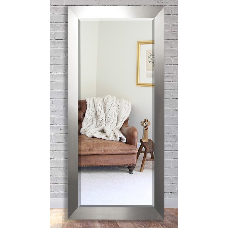 Inspiration about Dalessio Wide Modern Contemporary Full Length Beveled Body Dresser Mirror Inside Modern & Contemporary Full Length Mirrors (#7 of 20)