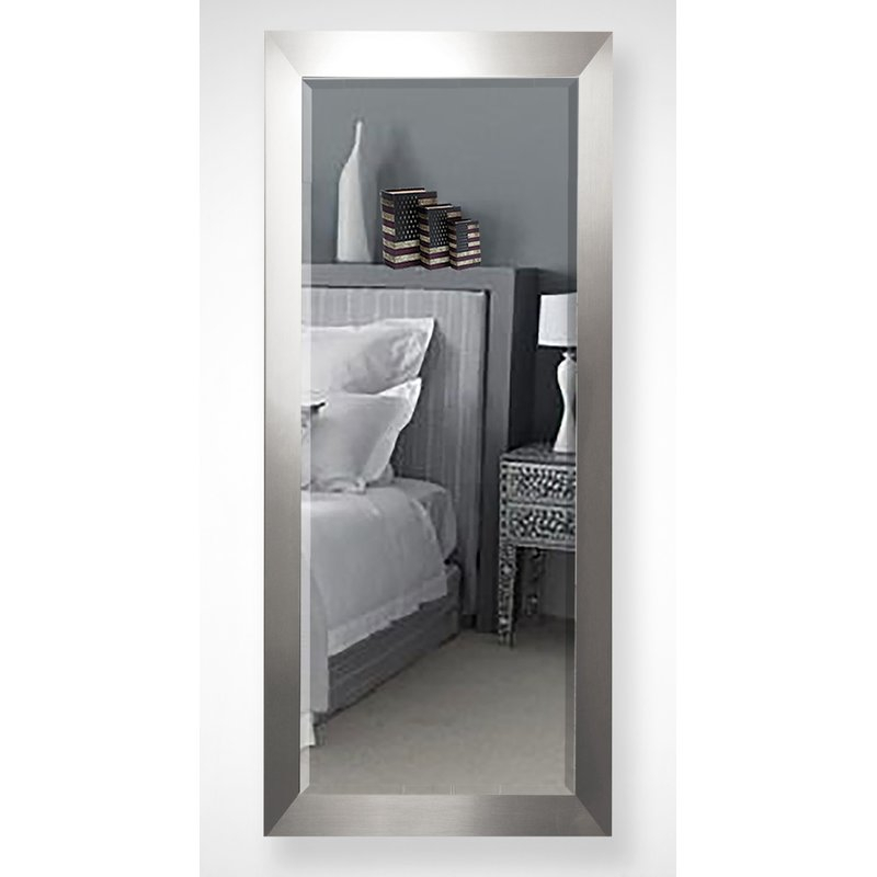 Inspiration about Dalessio Wide Modern Contemporary Full Length Beveled Body Dresser Mirror Pertaining To Dalessio Wide Tall Full Length Mirrors (#10 of 20)