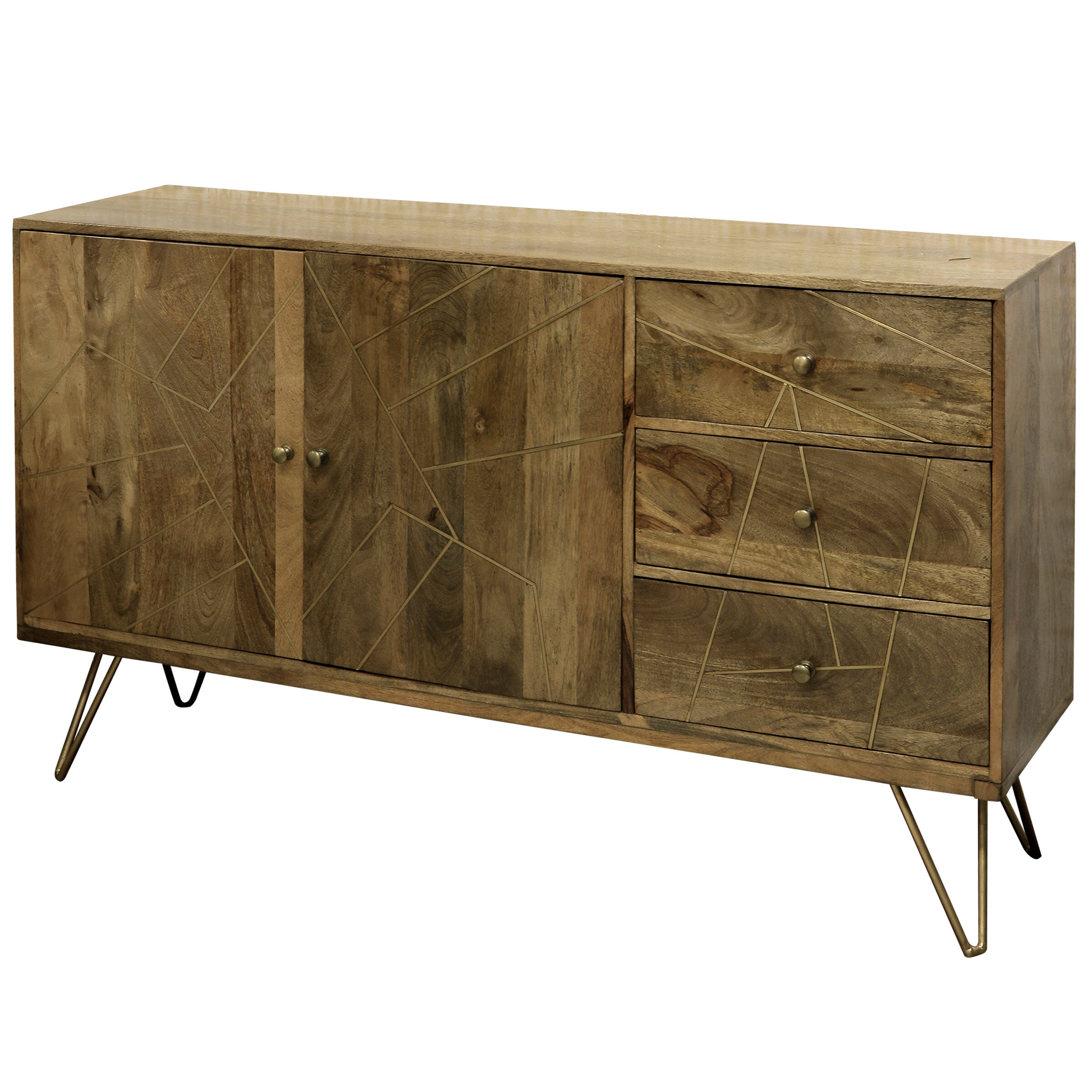 Inspiration about Damarion 3 Drawer Credenza With Regard To Most Recent Lainey Credenzas (#9 of 20)