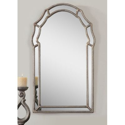 Darby Home Co Barnes Wall Mirror | Products | Mirror Intended For Ekaterina Arch/crowned Top Wall Mirrors (#9 of 20)
